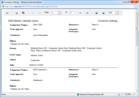 Connecting Master Calendar to Your EMS Database
